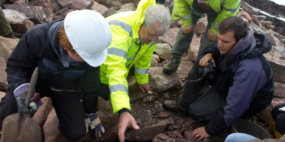 Finding dateable charcoal at Clachtoll broch