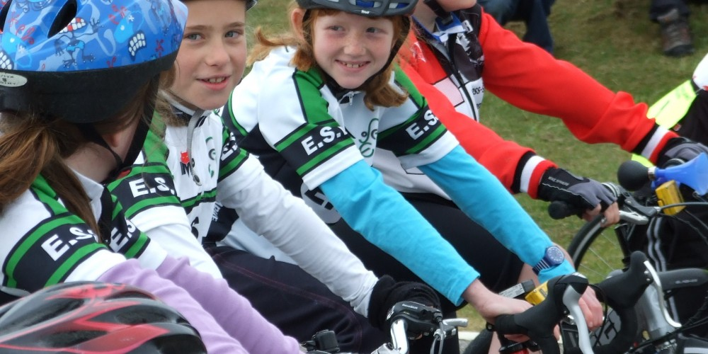Youth riders at ESW Race weekend 2012